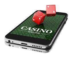 Mobil med casino online och tärningar