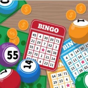 bingobrickor och bollar